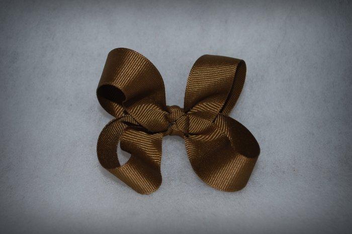 Chocolate Perky Bow