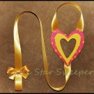 Open Heart Bow Holder