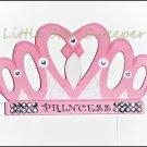 Princess Crown Hair Bow Holder