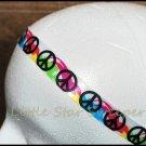 Peace Watercolor Ribbon