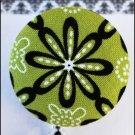 Mod Green Kaleidoscope Badge Reel