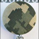 Camo Badge Reel
