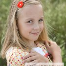 Dainty Blossom Headband - Orange