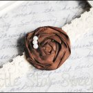 Vintage Sadie Headband - Chocolate