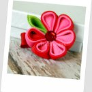 Sweet Strawberry Kanzashi Bloom Hair Clip