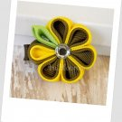 Banana Kanzashi Bloom Hair Clip