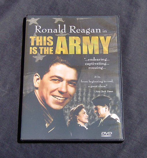 This is the Army with Ronald Reagan
