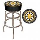 NHL Vintage Boston Bruins Padded Bar Stool