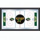 NHL Dallas Stars Framed Hockey Rink Mirror