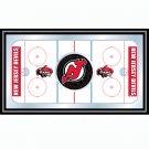 NHL New Jersey Devils Framed Hockey Rink Mirror