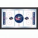 NHL Columbus Blue Jackets Framed Hockey Rink Mirror