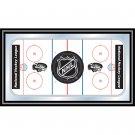 NHL Rink Mirror with NHL Shield Logo