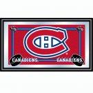 NHL Montreal Canadians Framed Team Logo Mirror