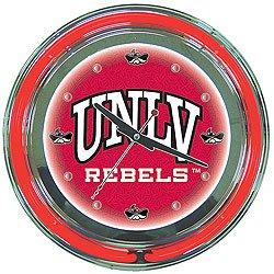 UNLV Neon Clock - 14 inch