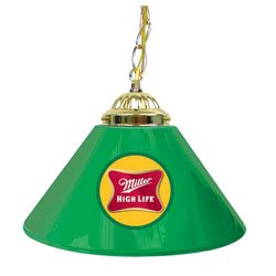 Miller High Life 14 Inch Single Shade Bar Lamp