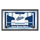 Personalized University of Maine Framed Jersey Mirror