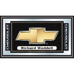 Personalized Chevy Chevrolet Bow Tie Framed Mirror