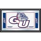 Gonzaga University Logo and Mascot Framed Mirror