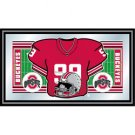 Ohio State Football Framed Jersey Mirror