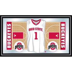 Ohio State Basketball Framed Jersey Mirror