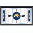 NHL Buffalo Sabres Framed Hockey Rink Mirror
