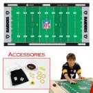 NFLR Licensed Finger FootballT Game Mat - Raiders