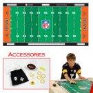 NFLR Licensed Finger FootballT Game Mat - Browns