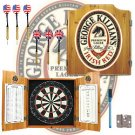 George Killians Dart Cabinet includes Darts and Board