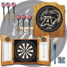 Army Dart Cabinet - Includes Darts and Board