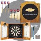 Chevrolet Dart Cabinet Includes Darts and Board