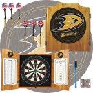 NHL Anaheim Ducks Dart Cabinet includes Darts and Board