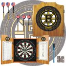 NHL Boston Bruins Dart Cabinet includes Darts and Board