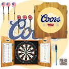 Coors Banquet Dart Cabinet includes Darts and Board