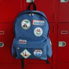 Travel Wappen Patch Backpack
