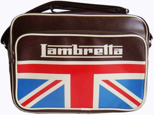 Lambretta Retro Messenger Bag
