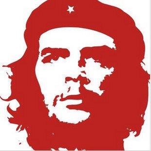 """Che Guevara"" character  Home Decor Wall Sticker"
