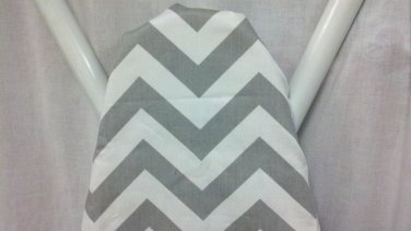CHEVRON ZIGZAG GREY and White ironing Board cover