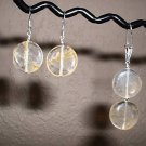CITRINE Sterling Silver Earrings and PENDANT 203