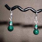 MALACHITE Sterling Silver Earrings 277