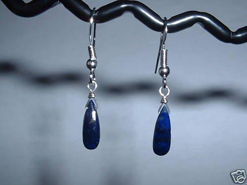 LAPIS BRIOLETTE Sterling Silver Earrings 478