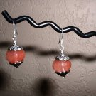 CHERRY QUARTZ FACETED Sterling Silver Earrings 231