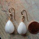 PINK PERUVIAN OPAL 14K GOLD FILLED Earrings 13