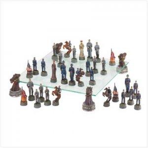 Deluxe Civil War Chess Set 37172