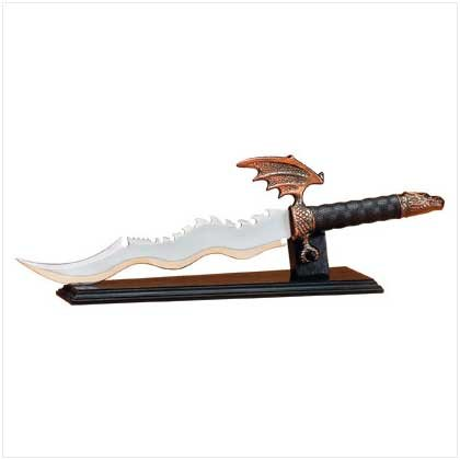Dragon Sword with display stand 30053