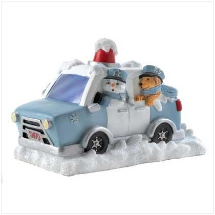 #12081 Snow Buddies Police Figurine