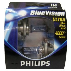 Philips Blue Vision Halogen Bulbs