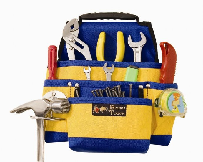 Heavy Duty Nylon Contractors Nail & Tool Pouch Bag