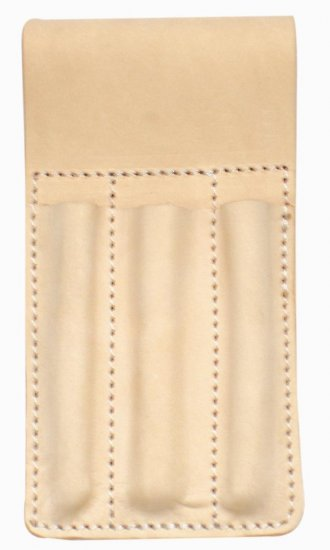 TOP GRAIN LEATHER TOOL BELT POUCH / TOOL HOLDER