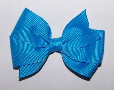 Turquoise Toddler Bow