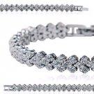 Dizzling Cubic Zirconia (CZ stone) bracelet  / Wedding jewelry - #105101